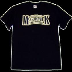 McCormick Brothers Black Logo Tee