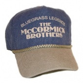 McCormick Brothers Denim Blue and Gray Ballcap