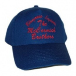 McCormick Brothers Royal Blue Ballcap